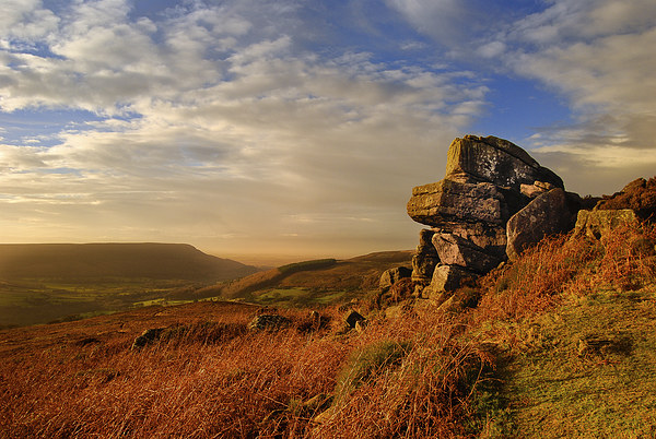 Evening at Scugdale North Yorkshire Canvas print by Greg Marshall