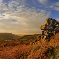 Buy canvas prints of Evening at Scugdale North Yorkshire by Greg Marshall