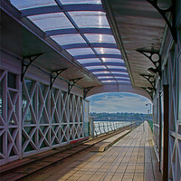 Buy canvas prints of Hythe Pier Railway Station by Phil Wareham