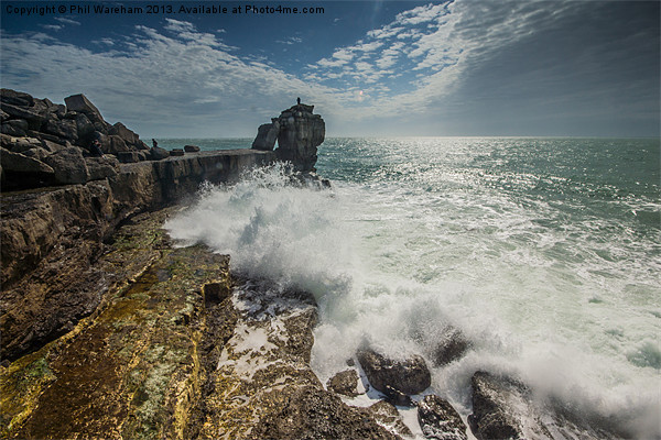 Pulpit Rock Portland Dorset Canvas print by Phil Wareham
