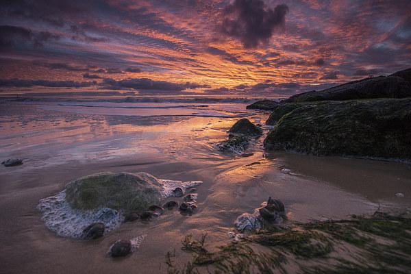 Seaside Sunrise Canvas print by Phil Wareham