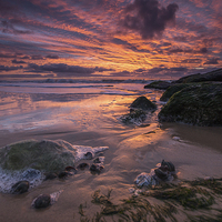 Buy canvas prints of Seaside Sunrise by Phil Wareham