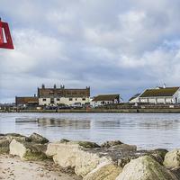 Buy canvas prints of  Mudeford Quay by Phil Wareham