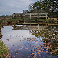 Buy canvas prints of Bridge over the Brook by Phil Wareham