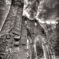 Buy canvas prints of ROCHE ABBEY by Julie  Chambers