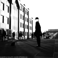 Buy canvas prints of The Tall Man by Iona Semay