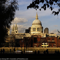 Buy canvas prints of St Paul's Cathedral by Iona Semay