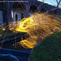 Buy canvas prints of Sparks in the park by Iona Semay