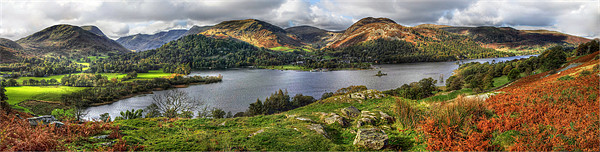 Glenridding on Ullswater Canvas print by Donald Parsons