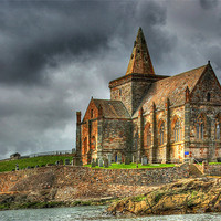 Buy canvas prints of St Monans Church, Fife, Scotland by Donald Parsons