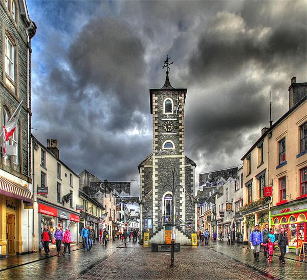 Keswick, Cumbria Canvas print by Donald Parsons