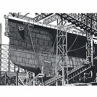 Buy canvas prints of Building the unsinkable by Gordon and Gillian McFarland
