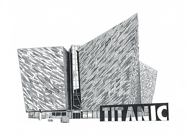 Titanic Belfast Canvas print by Gordon and Gillian McFarland