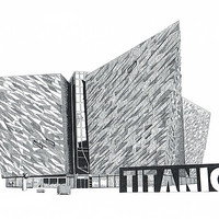 Buy canvas prints of Titanic Belfast by Gordon and Gillian McFarland