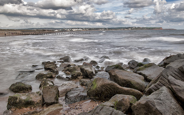 Windy on the Warren Canvas print by Andy dean