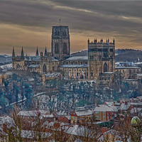Buy canvas prints of Durham Cathedral by kevin wise