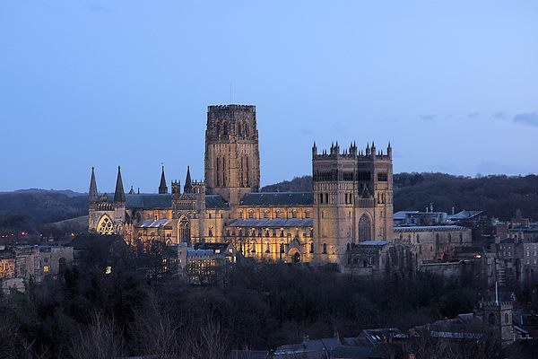 Durham Cathedral Canvas print by kevin wise
