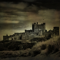 Buy canvas prints of Bamburgh Castle by kevin wise