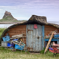 Buy canvas prints of  Boat Shed by kevin wise