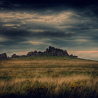 Buy canvas prints of Hound Tor by kevin wise