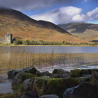 Buy canvas prints of  Kilchurn Castle by kevin wise