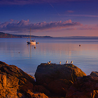Buy canvas prints of Babbacombe Veiw                                    by kevin wise