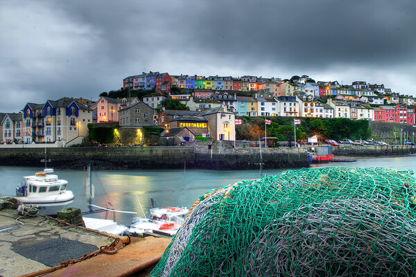 Brixham fishing net Canvas Print by kevin wise