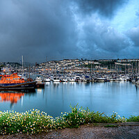 Buy canvas prints of Brixham Lifeboat by kevin wise