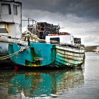 Buy canvas prints of Fishing Boats by Jamie Beck