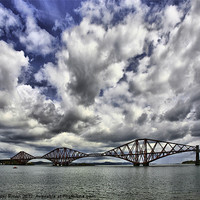 Buy canvas prints of Forth Rail Bridge by Buster Brown