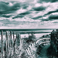 Buy canvas prints of Coast Path by Rob Booth