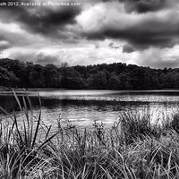 Buy canvas prints of Upper Lake by Rob Booth