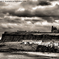 Buy canvas prints of 'Towards The Abbey' by Rob Booth