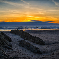 Buy canvas prints of Croyde Bay by shawn nicholas