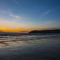 Buy canvas prints of Croyde Bay, Devon by shawn nicholas