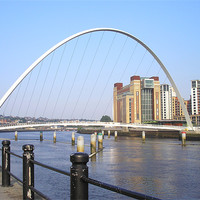 Buy canvas prints of Newcastle Quayside in the Sun! by Eleanor McCabe