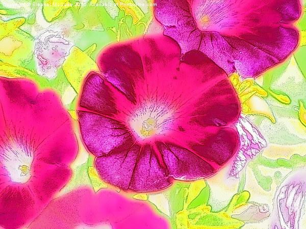 Summer Raspberry Beauty Canvas print by Eleanor McCabe