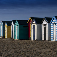 Buy canvas prints of Beach Huts by Paul Davis