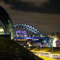 Buy canvas prints of Newcastle Tyne Bridge by Jacqui Farrell