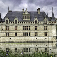Buy canvas prints of Chateau d'Azay le Rideau by Jacqui Farrell