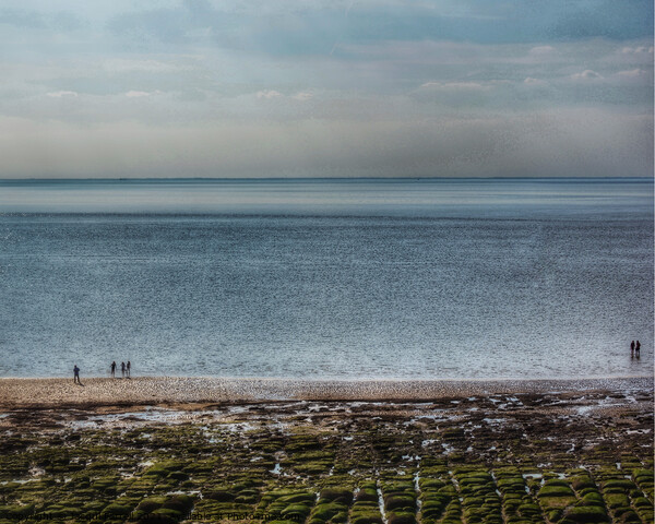 Hunstanton Seafront Norfolk Framed Mounted Print by Jacqui Farrell