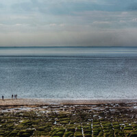Buy canvas prints of Hunstanton Seafront Norfolk by Jacqui Farrell