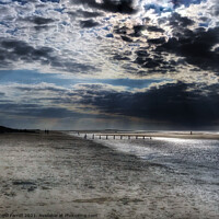 Buy canvas prints of Brancaster Beach North Norfolk by Jacqui Farrell