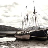 Buy canvas prints of Inverary Museum and Vital Spark by Andy Anderson
