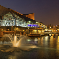 Buy canvas prints of Princes Quay by Val Saxby LRPS