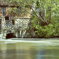 Buy canvas prints of The Mill by Val Saxby LRPS