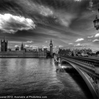 Buy canvas prints of Palace Of Westminster - London, England by Yhun Suarez