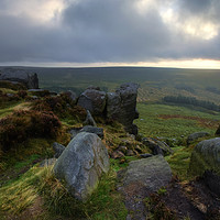 Buy canvas prints of Higger Tor 19.0 by Yhun Suarez