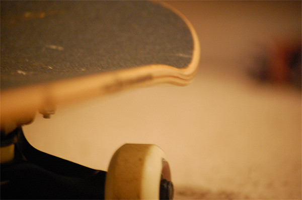 Skateboard Detail Canvas print by Matt O'Sullivan