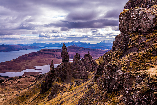 The Old Man of Storr Framed Mounted Print by Gary Finnigan